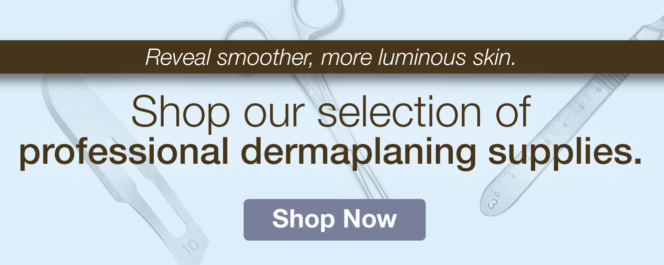 Half Page Ad – Shop Dermaplane Supplies at MeyerSPA – Click to View Page