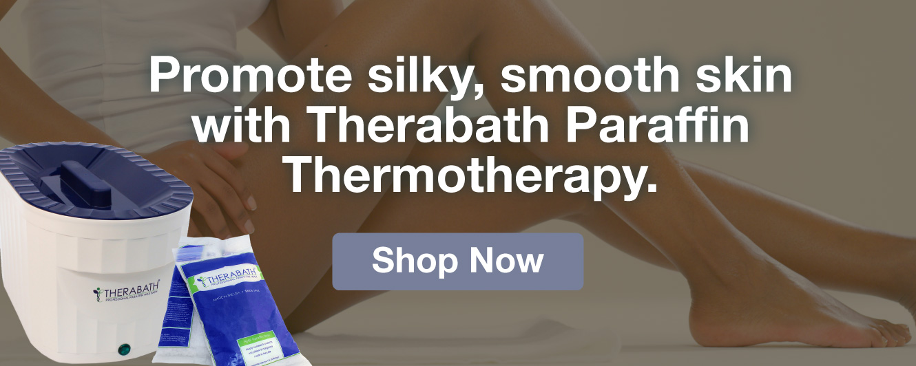 Half Page Ad – Shop Paraffin Baths & More from Therabath – Click to View Page