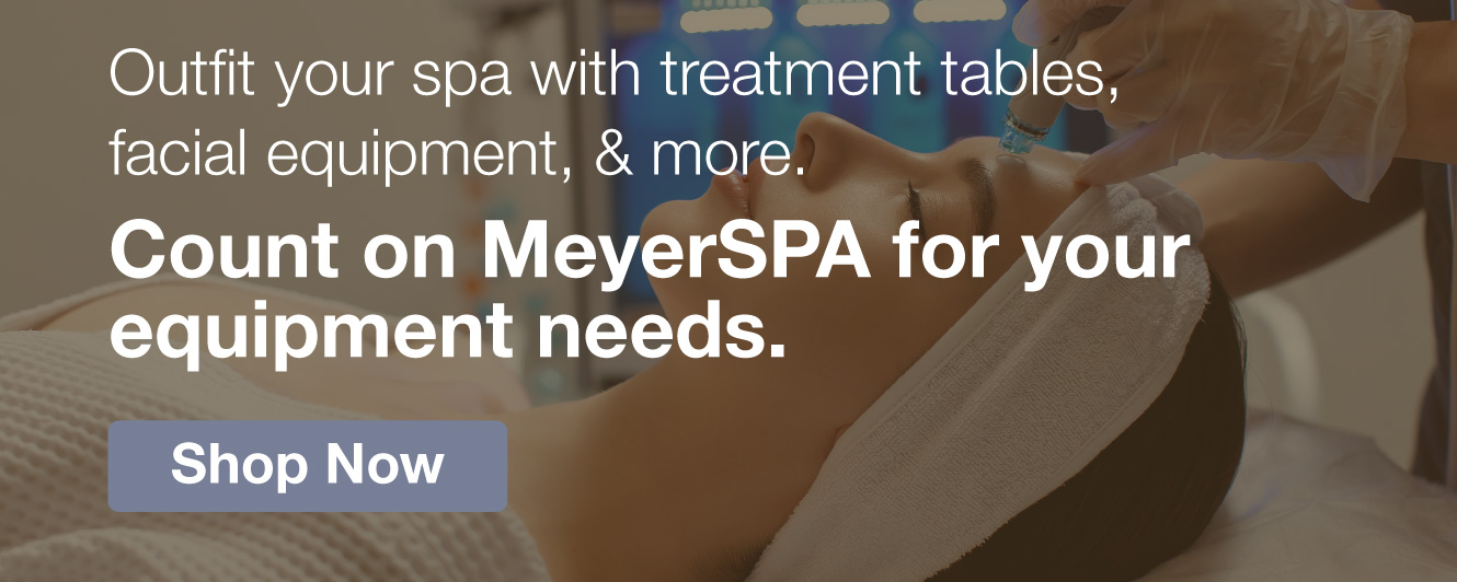 Half Page Ad – Shop Spa Equipment from Leading Brands – Click to View Page