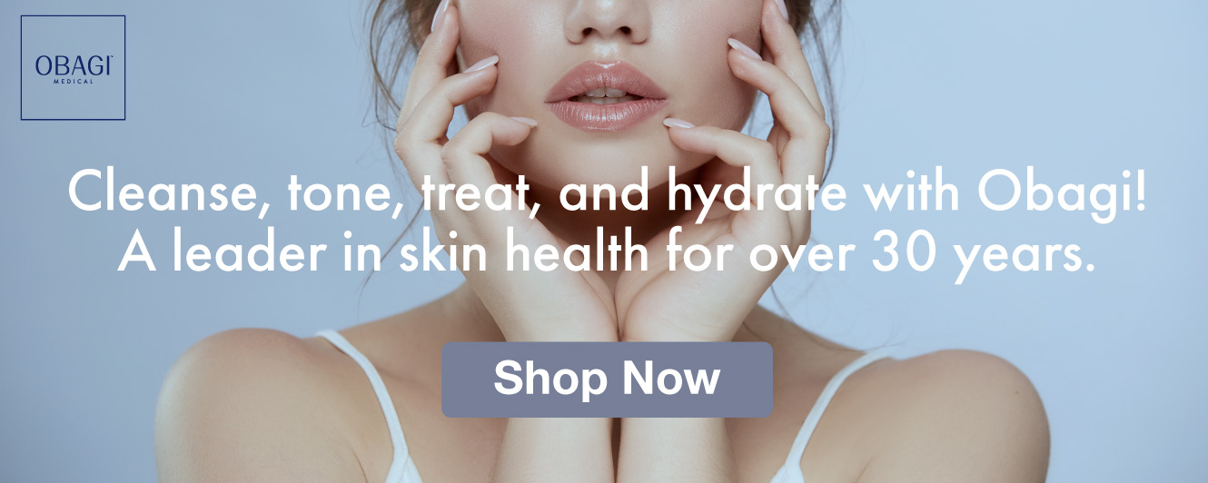 Half Page Ad – Shop Obagi Skincare Products at MeyerSPA – Click to View Page
