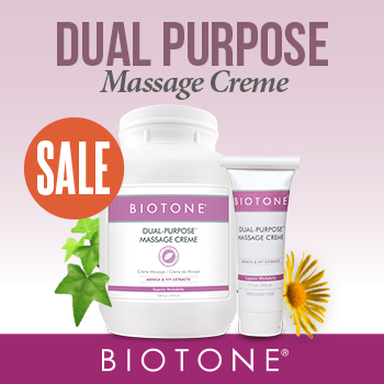 Featured Products - Dual Purpose Massage Creme Sale - Click to Shop