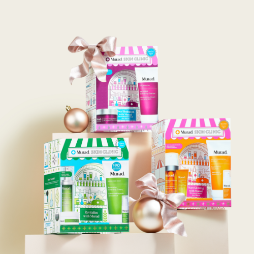 Spotlight Feature – NEW Murad Holiday Gift Sets – Click to View Page