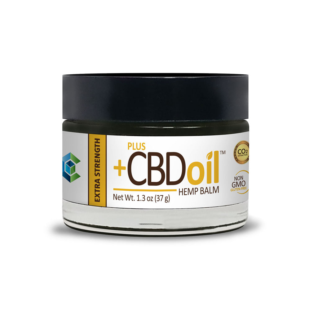 Plus CBD Oil Oil Balm - Extra Strength