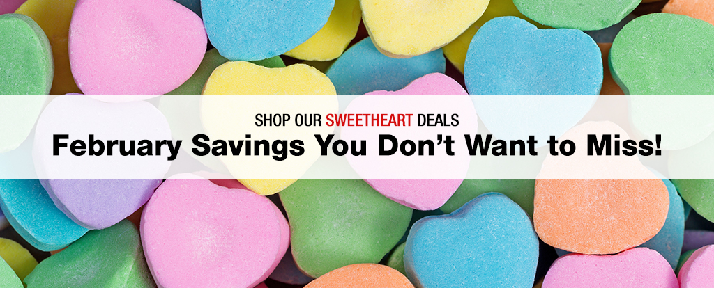 February Deals - Shop Now - Limited Time