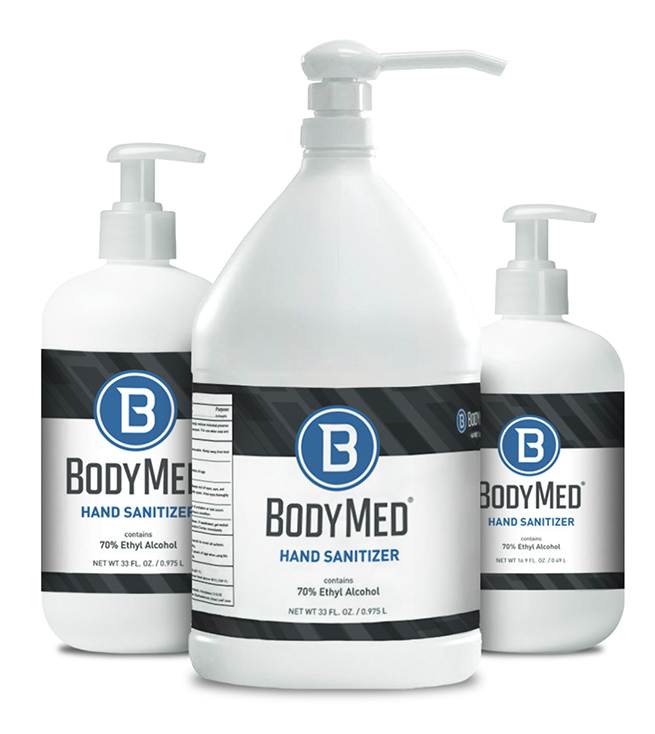Featured Products - BodyMed®  Hand Sanitizer - 70% Ethyl Alcohol - Click to Shop