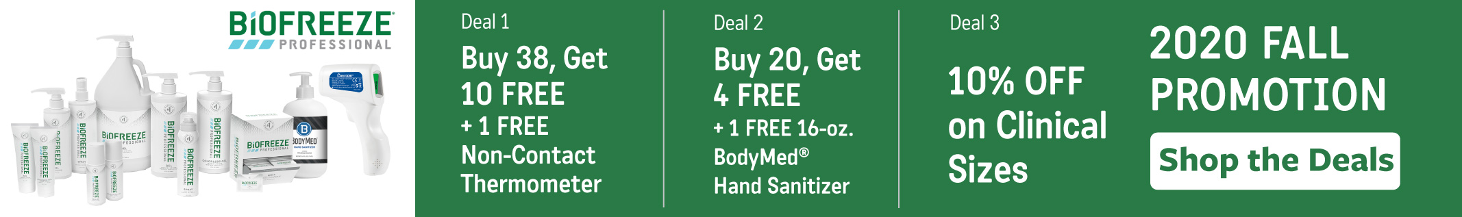 biofreeze fall sale with exclusive offer for free bodymed hand sanitizer