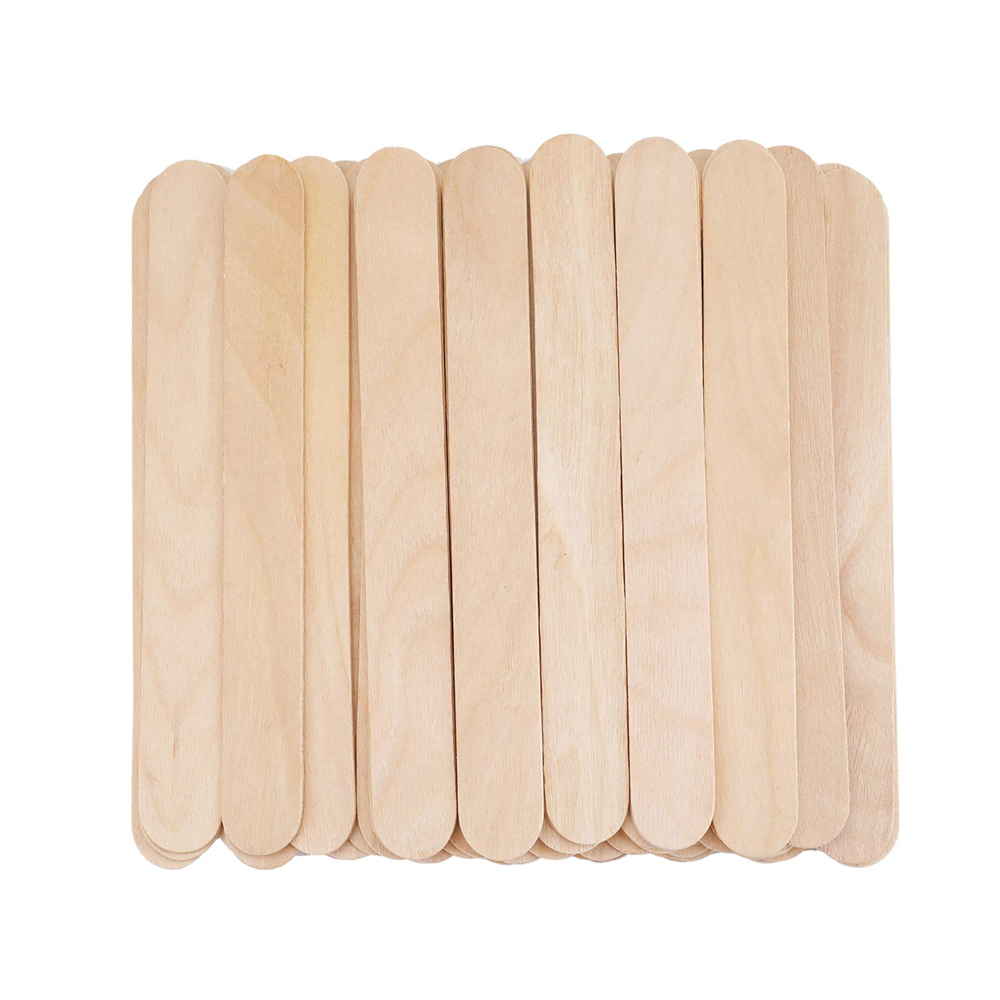 Featured Products - Amber Wooden Rounded Applicator Sticks - Click to Shop