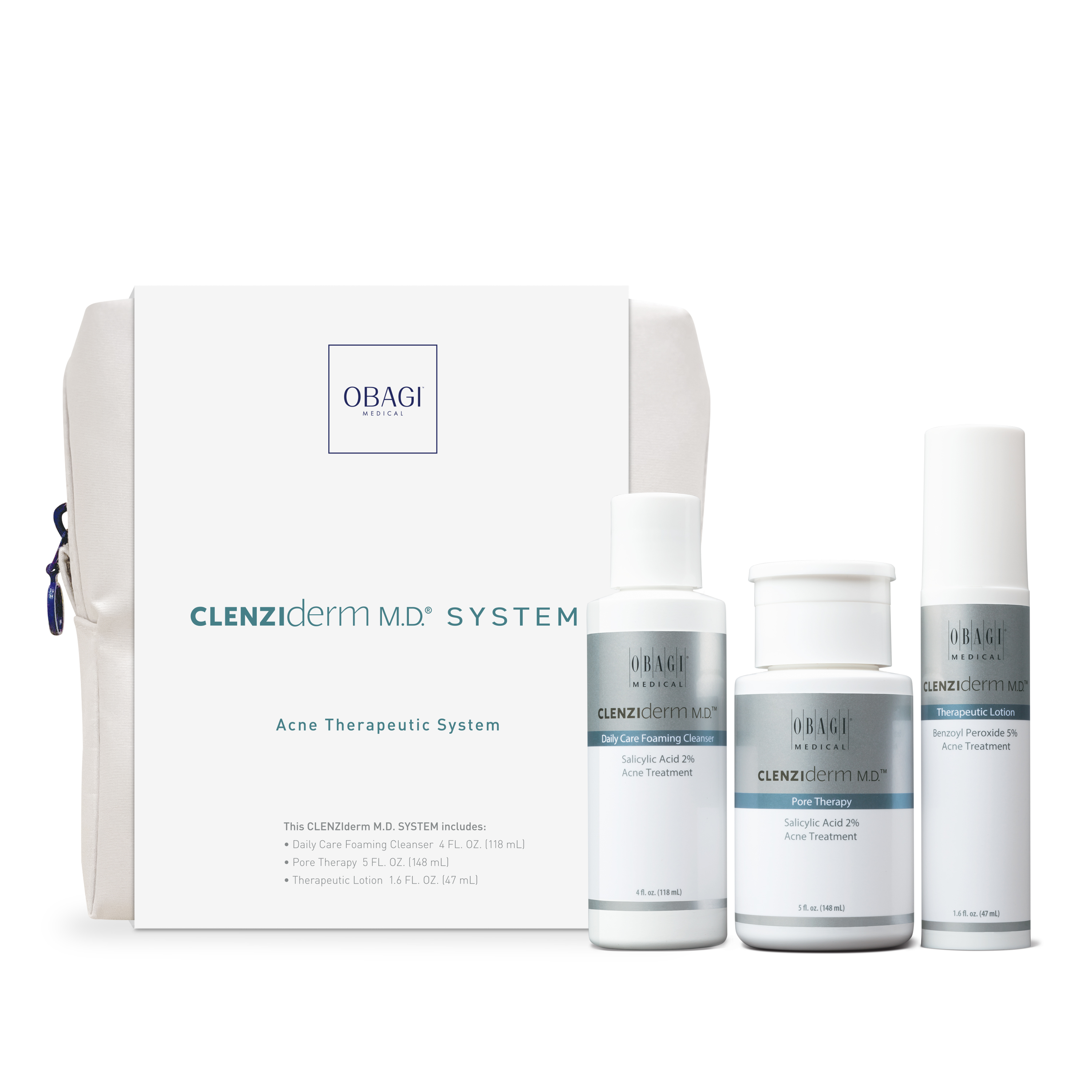 Featured Products - Obagi Medical CLENZIderm Virtual Kit- Click to Shop