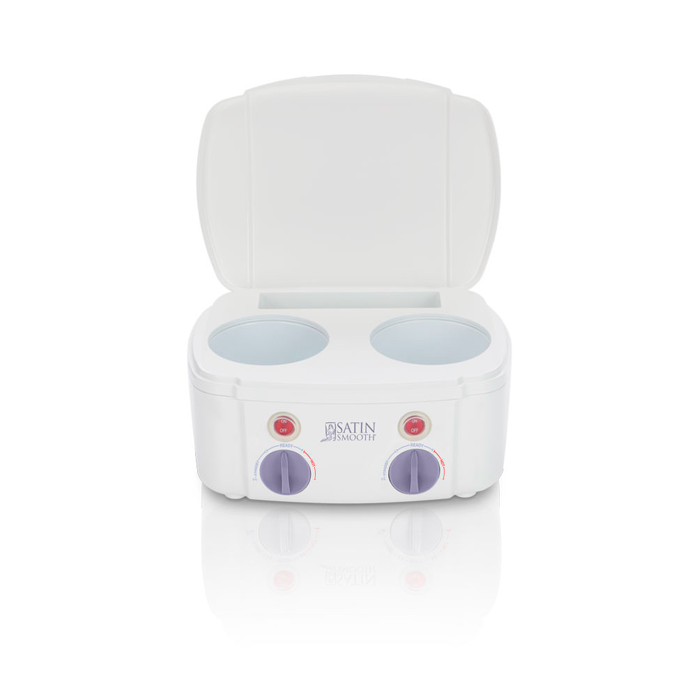 Satin Smooth Professional Double Wax Warmer - Click to Shop