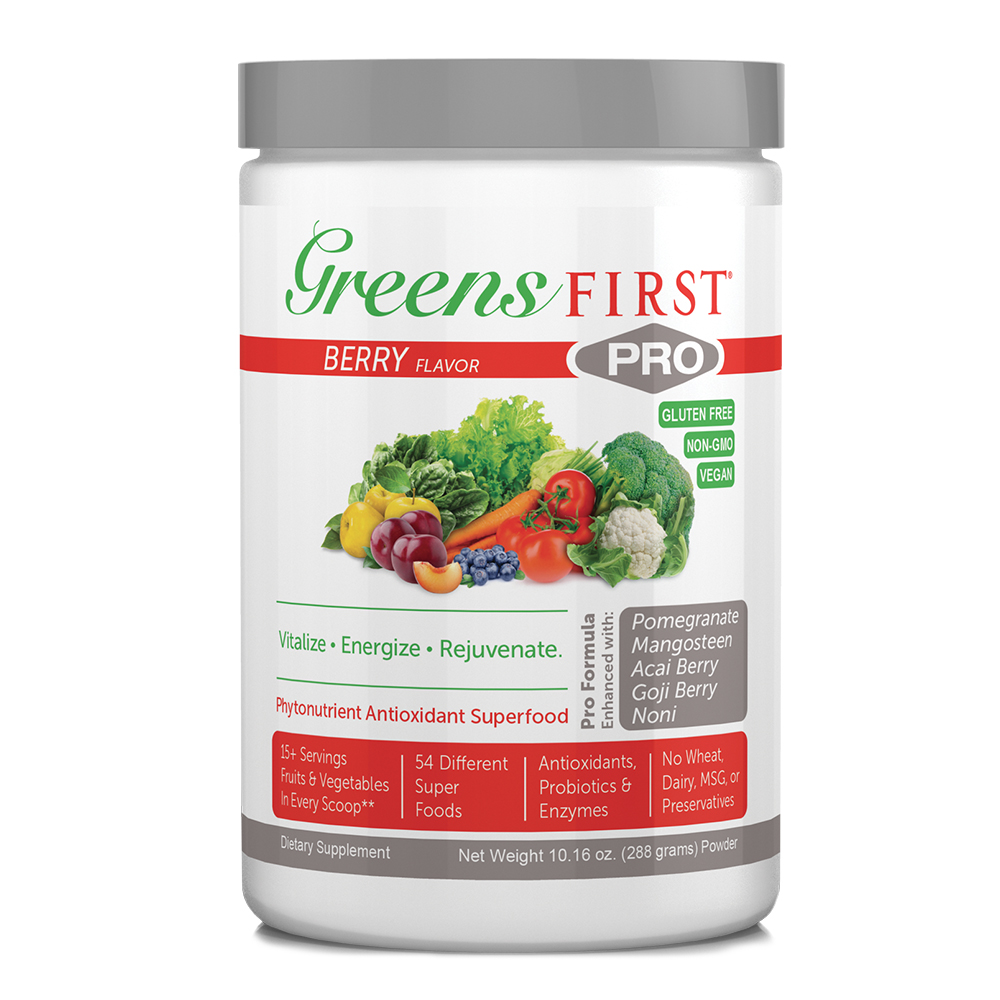 Greens First PRO Powdered Supplements - Click to Shop Now