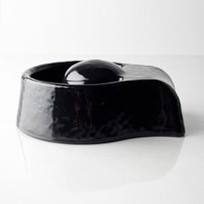 Noel Asmar Manicure Bowl, Black Resin