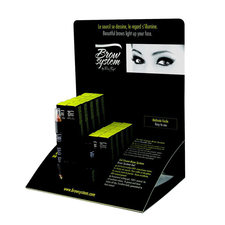 Brow Salon Counter Display