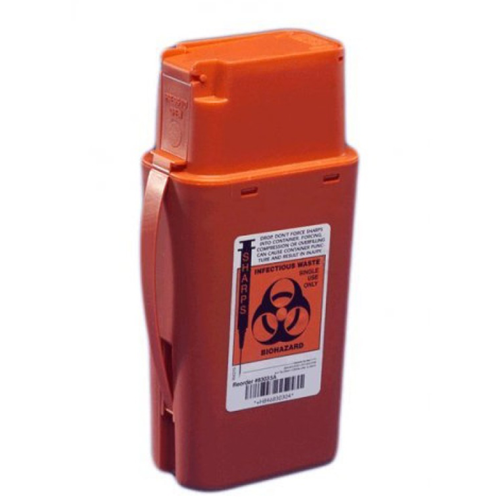 Featured Products - SharpSafety™ Transportable Sharps Container - Click to Shop