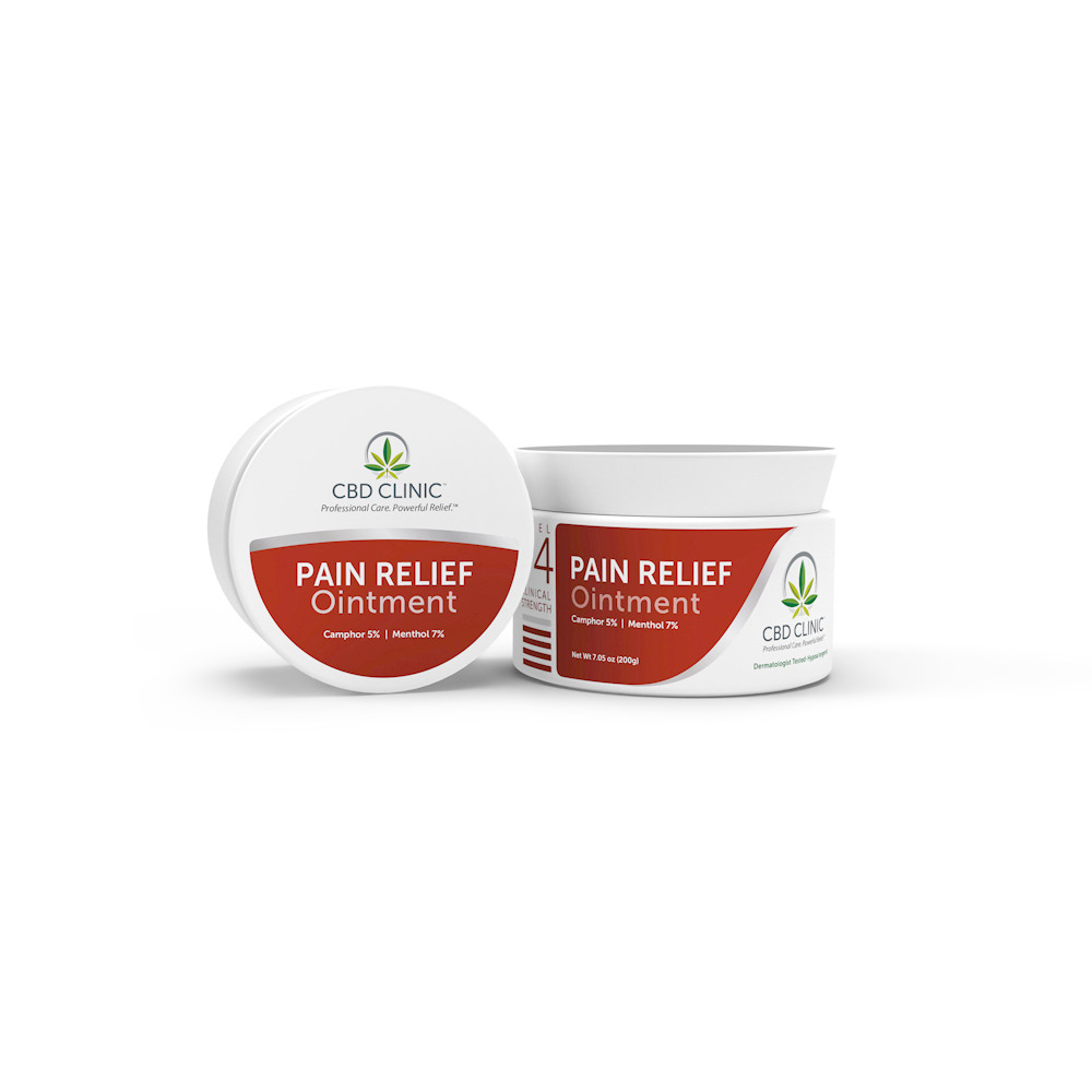 Featured Products - CBD Clinic Level 4 - Deep Muscle & Joint Pain Relief - Click to Shop