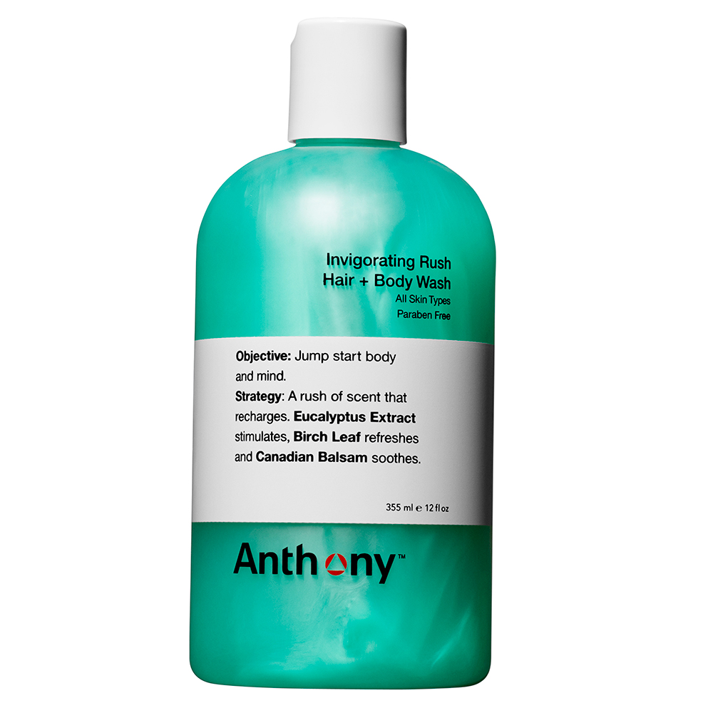 Featured Products - Invigorating Rush Hair + Body Wash - Click to Shop