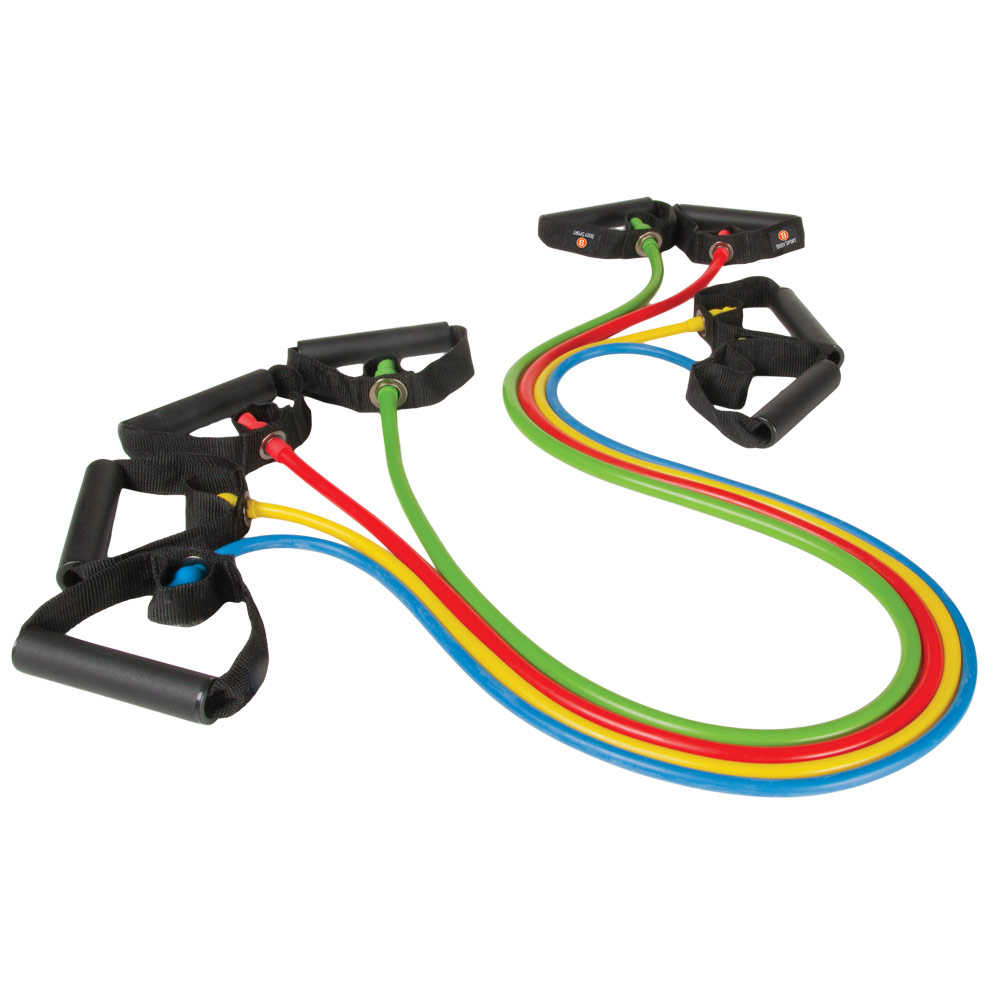 Body Sport® Studio Series Resistance Tubes - Click to Shop Now