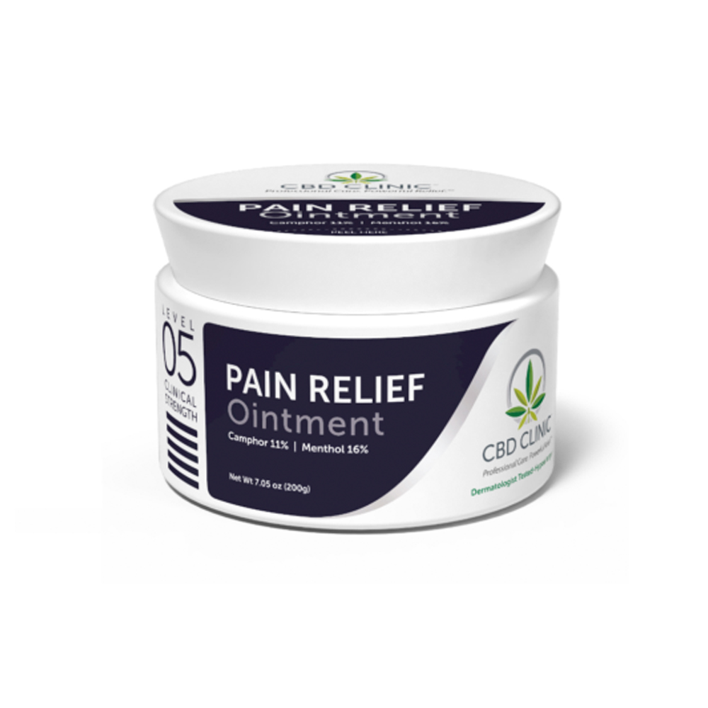 Featured Products - CBD Clinic Level 5 - Pro Sport Deep Muscle & Joint Pain - Click to Shop